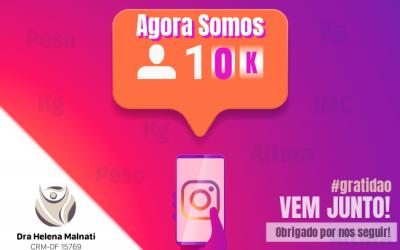10k Seguidores Instagram